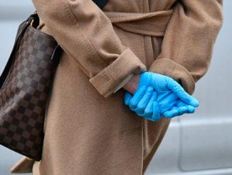 Гумові рукавички